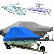 Marine T Top Boat Cover Fits A 29and0396 Boat With A 120 Beam Width.