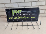 Voit And039for The Life Of Your Carand039 Metal Automotive Hose Gas Service Station Rack