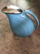 52 Vintage China Pottery Pitcher Jugs Etc , All Colors, Many Vintage Hall Items