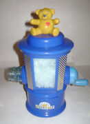 Build A Bear Workshop Spin Master Stuffing Station Machine Blue Yellow Bear Rare