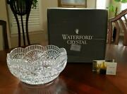 Waterford Crystal Nine Inch Master Cutter Bowl Perfect Wedding Gift
