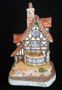 David Winter Cottages Thameside Mib Coa  Issued 1993 Guild Piece 13