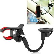 Easy One Hand Mount Car Holder Dash And Windshield Cradle Stand For Smartphones