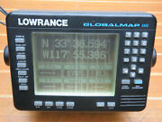 Lowrance Global Map 1000 Boat Dgps Chart Plotter Display Head Unit For Parts