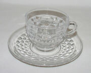 Perfect Vintage Fostoria American Cup And Saucer - 10 Sets Avail.