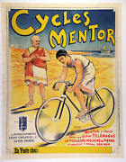 Cycles Mentor - Original Vintage Bicycle Poster - Cycling - Clouset