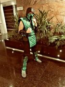 Mk Cosplay Costume / Reptile Costume With Boots And Mask