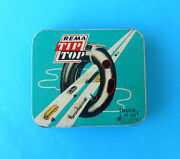 Rema Tip-top Vintage Empty Tin Box Of Trucks Tire Repair Set Made In Germany
