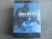 Brand New Call Of Duty Ghosts Hardened Edition For Playstation 3 Ps3