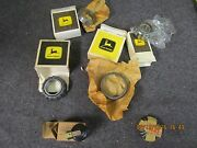 Box Lot Of Vintage John Deere Tractor Parts In Original Boxes Bearings And More