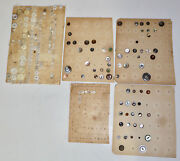 Vintage And Antique Sewing Buttons On Cards Lot 1