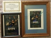 Maverick Movie Poster Pics Signed By Mel Gibson-james Garner-jodie Foster Extra