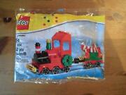 Christmas Holiday Train Polybag - Lego 40034 - Sealed Box- 82 Pieces - Retired
