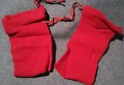 2 Pair Of Kids Nylon Shoe Storage Bags For Travel Or Protect Expensive Shoes