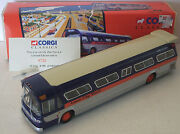 Corgi Fishbowl Lionel City Transit Bus Gm 5301 New In Box 54302 W/mirrors And Card
