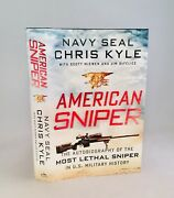 American Sniper-chris Kyle-signed By Taya Kyle-first/1st Edition/4th Printing