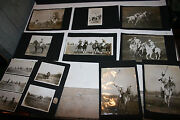 1920 Chicago North Shore Polo Club 20 Photo Lot Walter Barger Fox Hunt