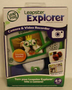 New Leap Frog Leapster Explorer Camera And Video Recorder