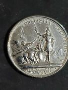 1705 France Military Silvered Medal Coin Token--louis Xiv
