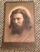 Antique 1910 Actor Anton Lang Germany Autographed Hand Signed Postcard