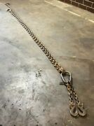 1/2 X 11'foot Wll 28500 Alloy Grade 80 Double Leg Chain Sling Lowery Bros Inc
