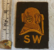 A Military Army Shallow Water Diver Cloth Formation Badge 2037