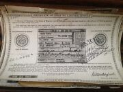 1952 Packard 2dr Historical Paperwork Document Hot Rod Project