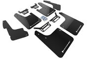 Rally Armor Mud Flaps Guards W/liner Cover For 12-19 4runner Black W/whit Logo