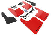 Rally Armor Mud Flaps Guards W/liner Cover For 12-19 4runner Red W/black Logo