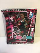Monster High - Clawd Wolf And Draculaura Music Festival Giftset Pack Of 2 New