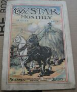 The Star Monthly 1904 August Illinois Vintage Antique Book Booklet Magazine