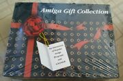 Rare Beautiful Amiga Gift Collection Misb - Includes 5 Games And Joystick