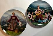 1 The Sound Of Music 2 Do Re Mi Edwin Knowles Sound Of Music Plates 1986