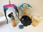 Monster High 13 Wishes Desert Fright Oasis Playset And Cleo De Nile Doll Complete