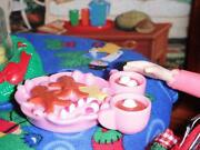Fisher Price Loving Family Pink Gingerbread Hot Coa-coa Candy Tray Dollhouse Lot