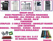 Ask Me What You Need Konica Toshiba Xerox Ricoh Kyocera Brands Copier Machines