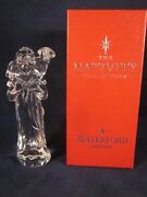 Waterford Crystal Nativity Shepherd With Sheep Lamb Excellent Sticker In Box