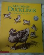 Make A Way For Ducklings 1969 Paperback Scholastic Big Book