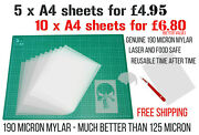 Blank Plastic Stencil Sheets Make Your Own Stencils Mylar Cake And Laser Safe