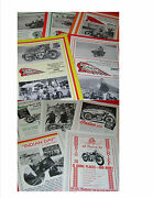 1930's Indian News Reprints In 5 New Springfield Indian Motorcycle Club Mags ++