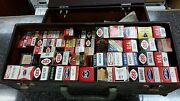 Vintage Radio And Tv Repairmans Tube Caddy With 149 Tubes In Boxes Free Shipping