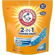Laundry Detergent Power Paks With Baking Soda Freshness 97 Count