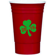 16 Oz Personalized Custom Stadium Cups Wedding Favor Party Red Solo St. Patricks