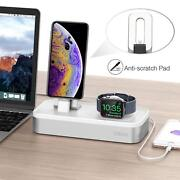 Iwatch/iphone/ipad Stand Charger Usb Mini 5 In 1 Dock Pencil Desk 3-port Usb