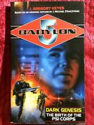 Dark Genesis The Birth Of The Psi Corps By J. Gregory Keyes - Babylon 5 - New