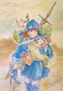 Studio Ghibli Poster Nausicaä Of The Valley Of The Wind  Made In Japan