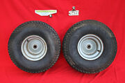 Lowes Noma 12 Hp 38 Cut Riding Lawn Mower Tractor Rear Wheel Set 20 X 8 - 8