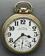 Just A Truly Clean 16s 23j 60 Hour Bunn Special Railroad Grade Pocket Watch