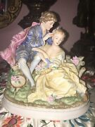 Beautiful Exclusives Lefton China Hand Painted Porcelain Figurine Kw 4050