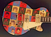 Queen Signed Guitar Brian May Autographed Guitar + Roger Taylor Proof Mercury